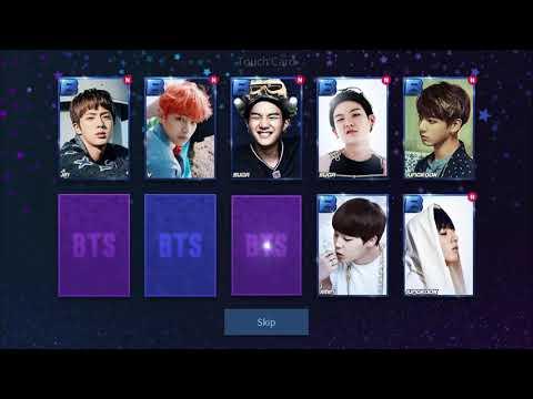 Superstar BTS | 2018 Light Up Event Rewards (VERY LUCKY)