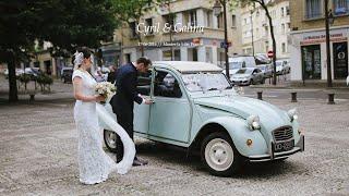 Свадьба во Франции. Венчание в католическом соборе. Свадьба в Европе.