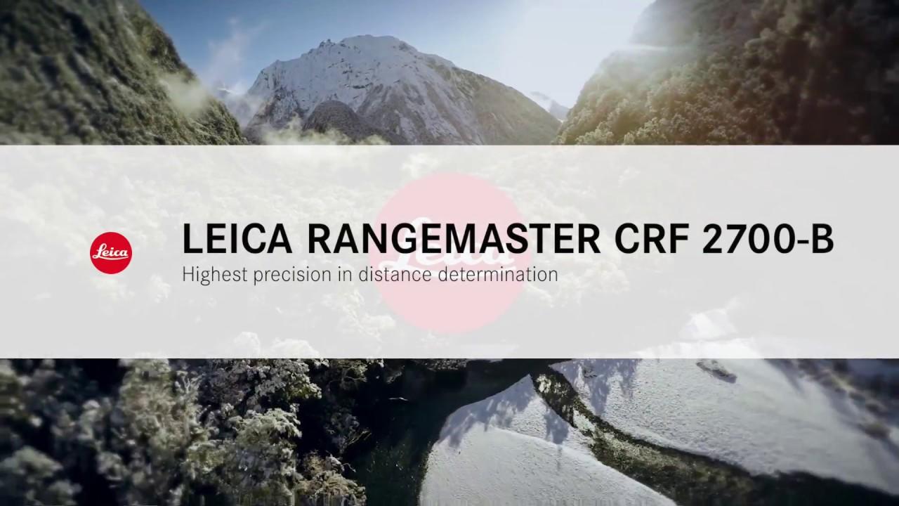 Leica Entfernungsmesser Crf 2000 B : Leica rangemaster crf b youtube