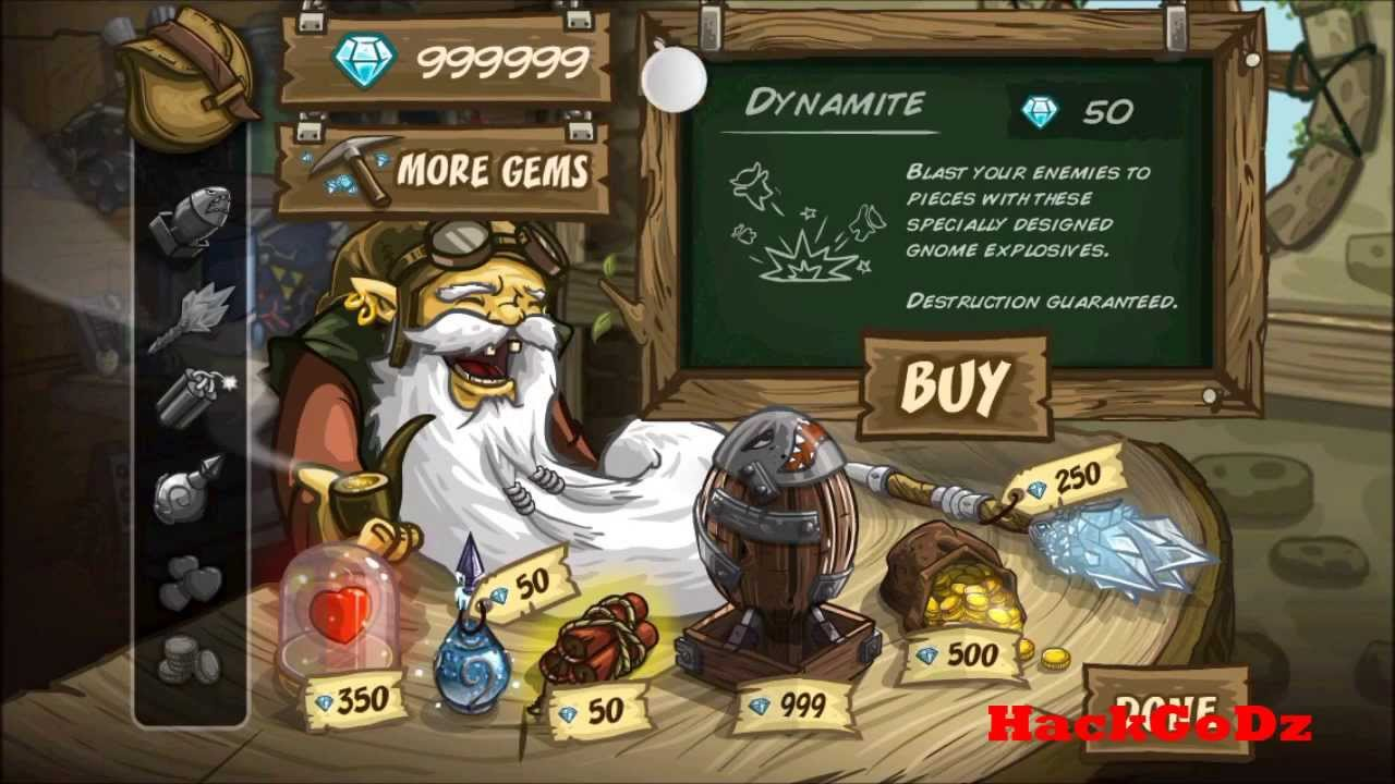 Kingdom Rush Frontiers Iso Hack Unlimited Gems, Upgrades and Gold (How To  Guide)