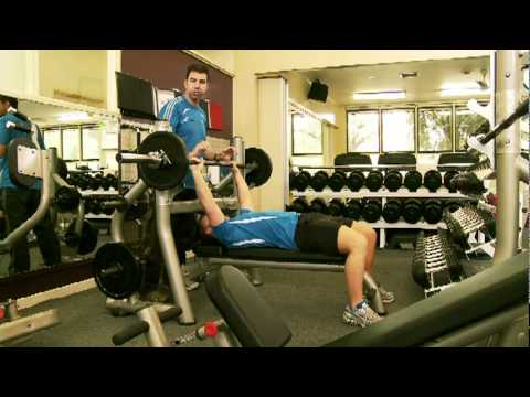 Australian Fitness Academy - Online Fitness Courses - Barbell Bench Press