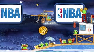 NBA Ham Dunk in Angry Birds Seasons! - Gameplay Trailer