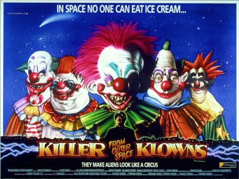 Killer Klowns From Outer Space(1988) Movie Review