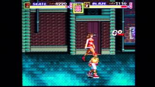 Streets of Rage 2 co-op playthrough pt1