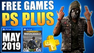 May 2019 FREE PS PLUS GAMES - Free PS4 Games May 2019 Leak (Playstation News)