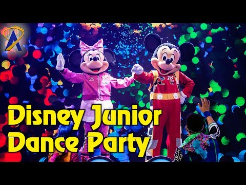 Disney Junior Dance Party - Full Show at Disney California Adventure