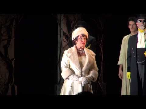 Chita Rivera's Opening night entrance in THE VISIT on Broadway