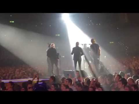 Queen 39 Brian May, Roger Taylor, Rufus Taylor, Spike Edney, Neil Fairclough Hallenstadion live 2015