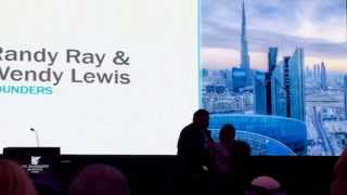 Randy and Wendy Lewis launch Jeunesse Dubai 4/16/15 - Instantly Ageless