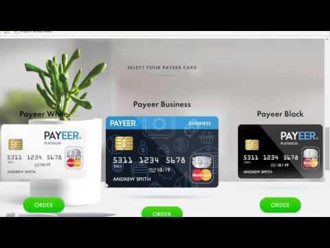 How to Sign up Payeer MasterCard & E-Wallet Bitcoin