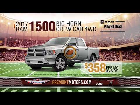 Start With A Win At Fremont Chrysler Dodge Jeep RAM