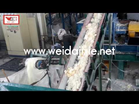 recycling rubber machine for crush latex glove Zhanjiang Weida Machinery Industrial Co Ltd