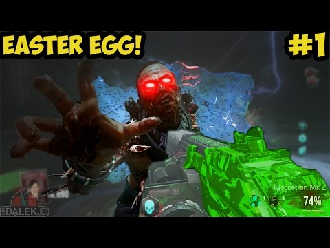 "Advanced Warfare EXO ZOMBIES ""INFECTION"" - FULL EASTER EGG LIVE! #1 (Call of Duty Exo Zombies)"