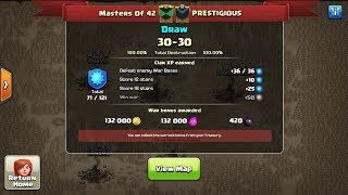Clash Of Clans - Perfect War Tie! : Recap + Overview of Attacks Used!