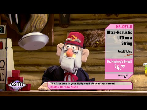 UFO on a String – Shop at Home with Mr. Mystery – Gravity Falls