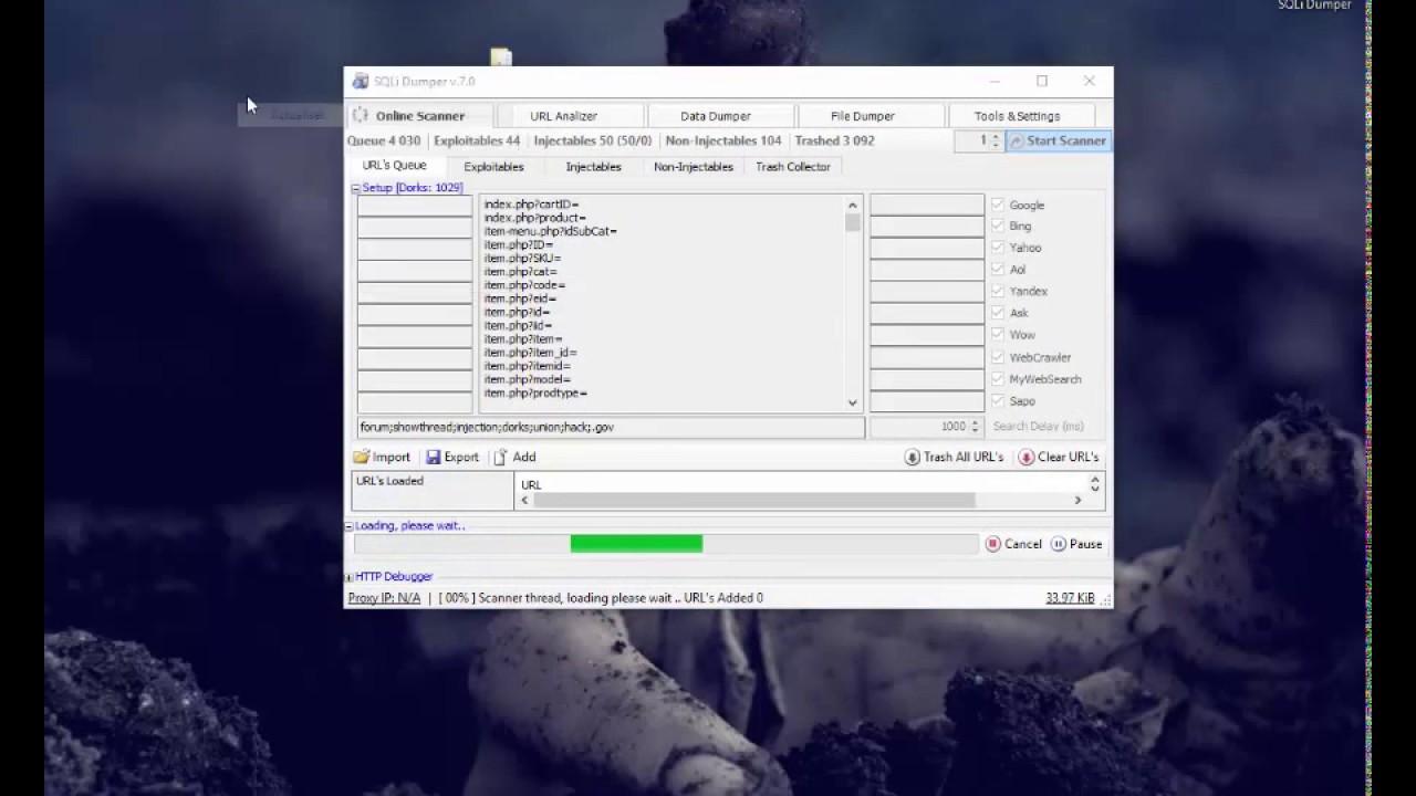 [#] سلسة سبآم [#] تحميل SQLi Dumper 7 مفعل - لسحب المايل ليست و اختراق  مواقع SQL