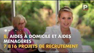 Classement des professions recrutant le plus dans la région