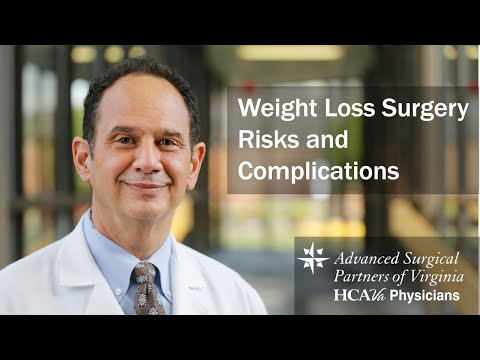 Weight Loss Surgery Risks and Complications Parham Doctors' Hospital