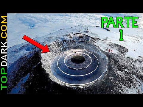 20 Descubrimientos misteriosos en la Antrtida