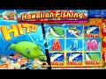 Hawaiian Fishing BONUSES!!! New Game SLOTS - 1c Aruze Gaming