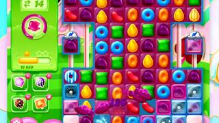 Candy Crush Jelly Saga Level 1256 ** 2 boosters