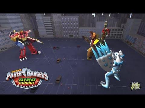 Power Rangers Dino Charge Rumble   MEGA MONSTER RUMBLE Challenge!