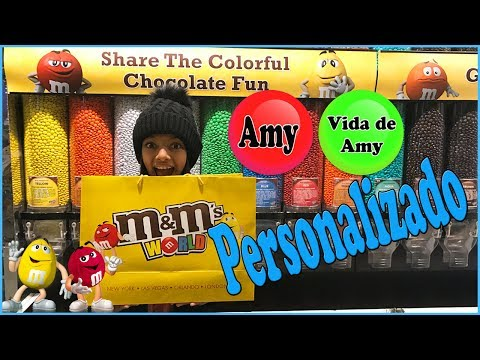 CHOCOLATE M&M's PERSONALIZADOS - MY CANDIES M&M WORLD NY NEW YORK