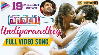 undiporaadhey-full-song-4k-husharu-latest-telugu-movie-songs-sid-sriram-telugu-filmnagar