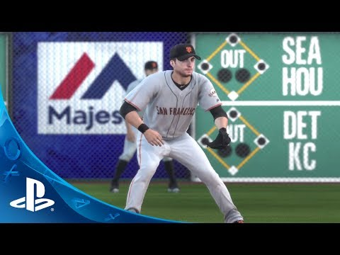 MLB 14 The Show I PS4 Gameplay- Giants @ Pirates