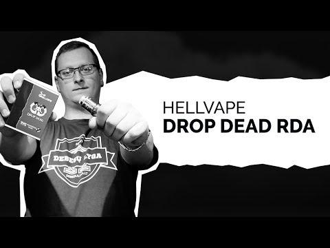 Hellvape Drop Dead RDA | DEBESŲ LYGA
