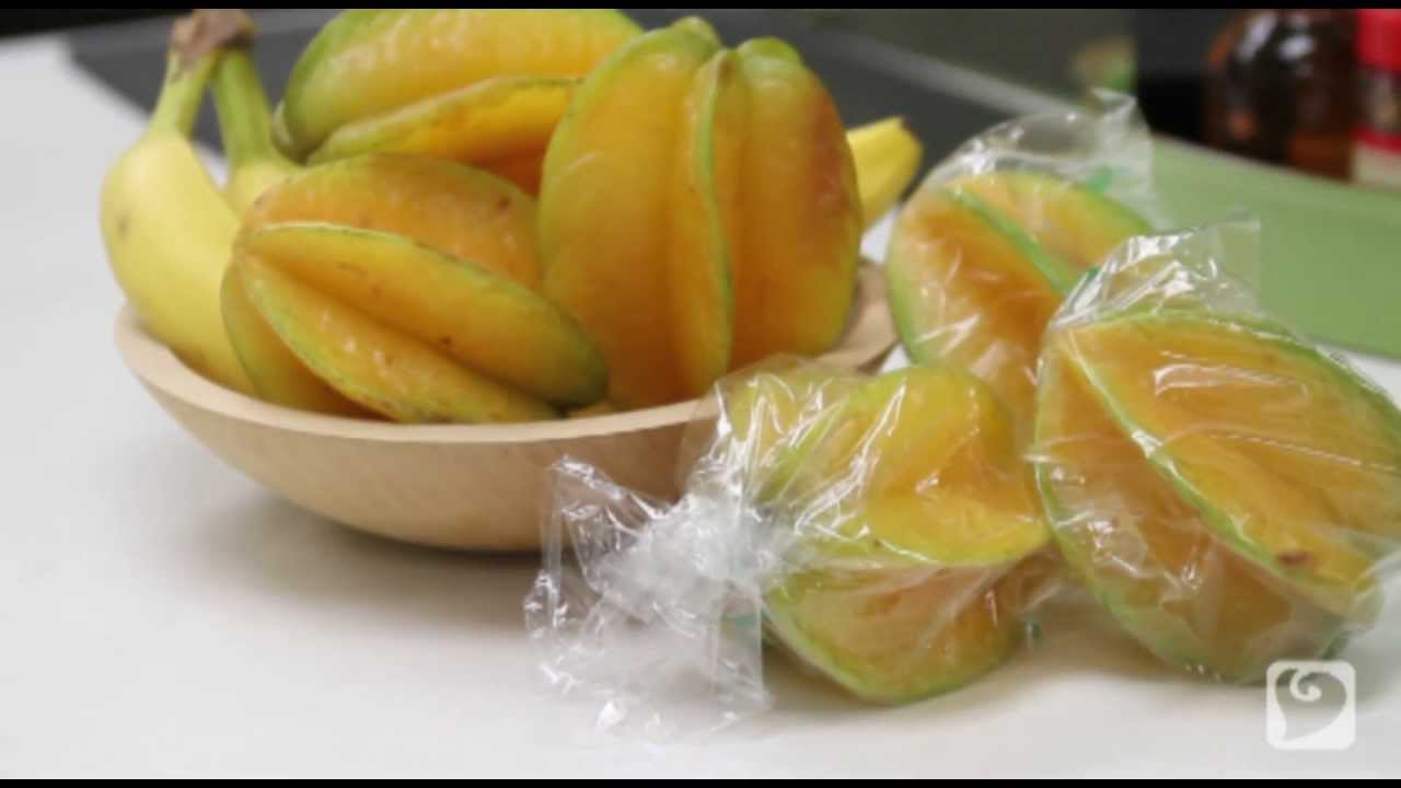 how to eat a starfruit carambola youtube
