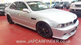 Jap car finder .  BMW 5 SERIES