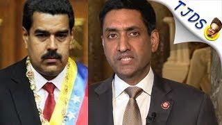 Ro Khanna Takes On CNN's McCarthy Smears Over Venezuela