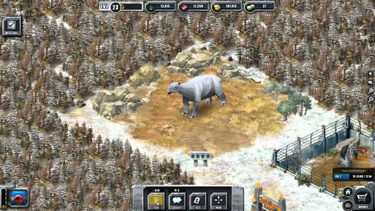 Jurassic Park Builder: Indricotherium (New and Rare ...