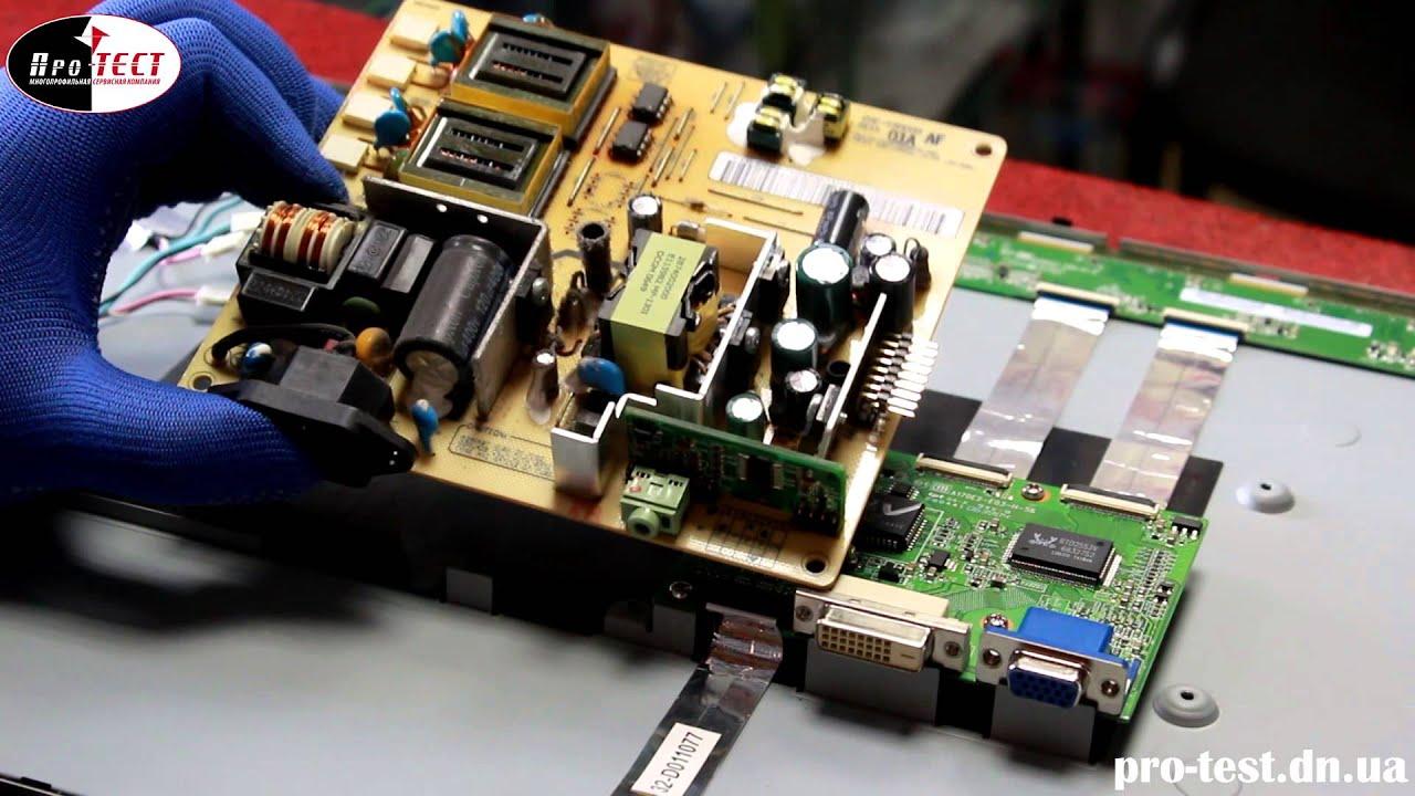 принципиальная схема монитора viewsonic va2026w