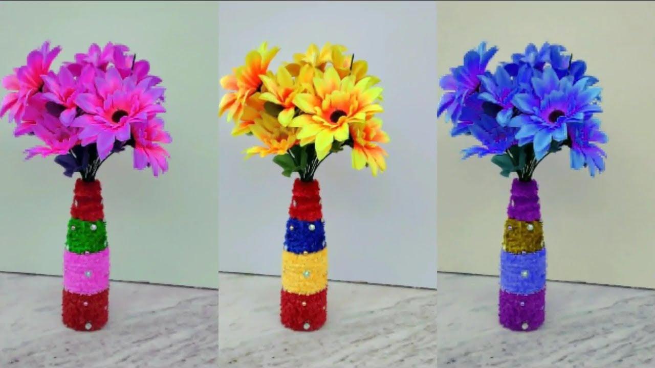 Diy how to make flower vase with sos bottle beautiful flower diy how to make flower vase with sos bottle beautiful flower pot making at home diy craft izmirmasajfo