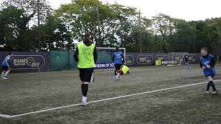 The F2 Freestylers meet the Bank of Scotland Midnight League