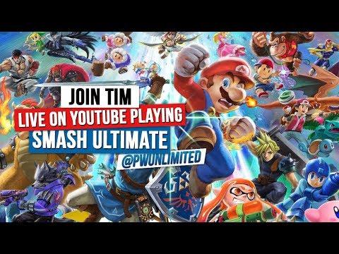 Suprise PWU Gaming Stream: Super Smash Bros Ultimate thumbnail