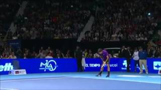 The Crowd Goes Crazy After Federer