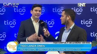 Lanzamiento @TigoOnetv Una nueva forma de television - CVAmediosPy