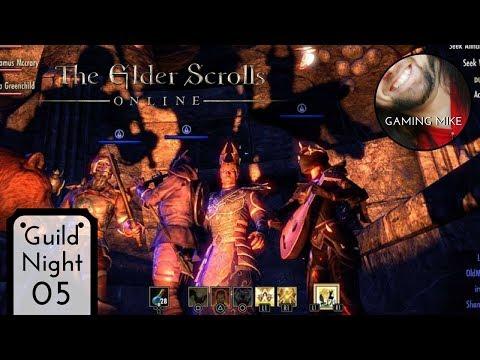 Wandering Rogues Guild Night 05 (Gameplay Broadcast) - The Elder Scrolls Online [ps4 1080p60]