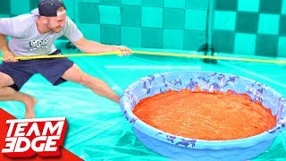 In this challenge, we play Tug of War with a pool of pudding in the middle! It gets messy! EAT It or WEAR It Challenge!