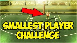 SMALLEST PLAYER POSSIBLE!! NBA 2K16 MYPARK CHALLENGE!!