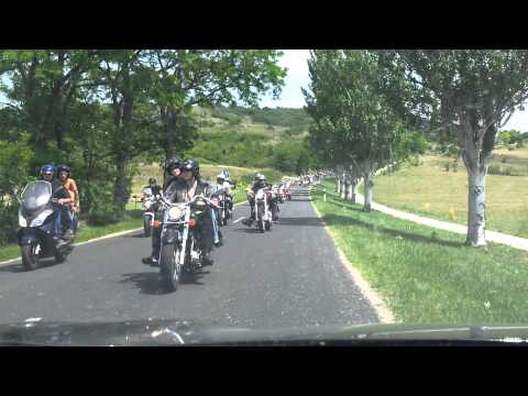 Motocycle festival 2012 Hungary Balaton lake 8000 motor