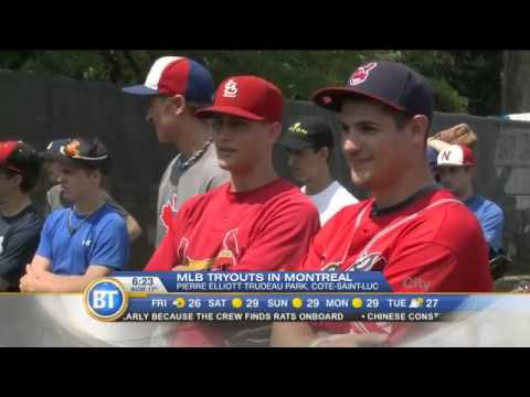 Making the cut at Major League Baseball's Montreal tryouts