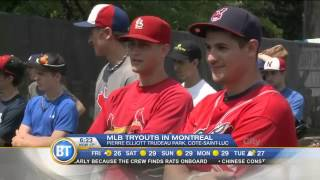 Making the cut at Major League Baseball
