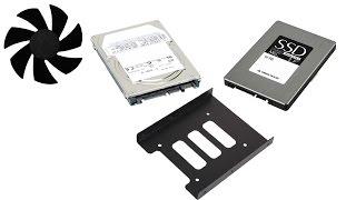 Как сделать самопальные салазки для SSD и HDD 2.5
