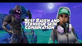Fortnite | Best Raven and Teknique Skin Combinations!