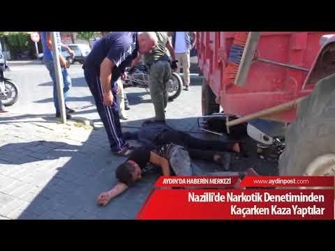 Nazilli'de Narkotik Denetiminden Kaçarken Kaza Yaptılar