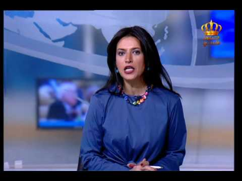 English News at Ten on Jordan Television 26-05-2017